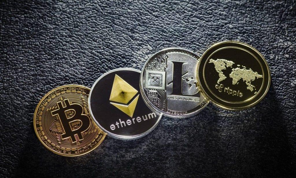 Des crypto monnaies.